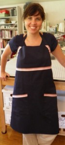 Apron sewing project