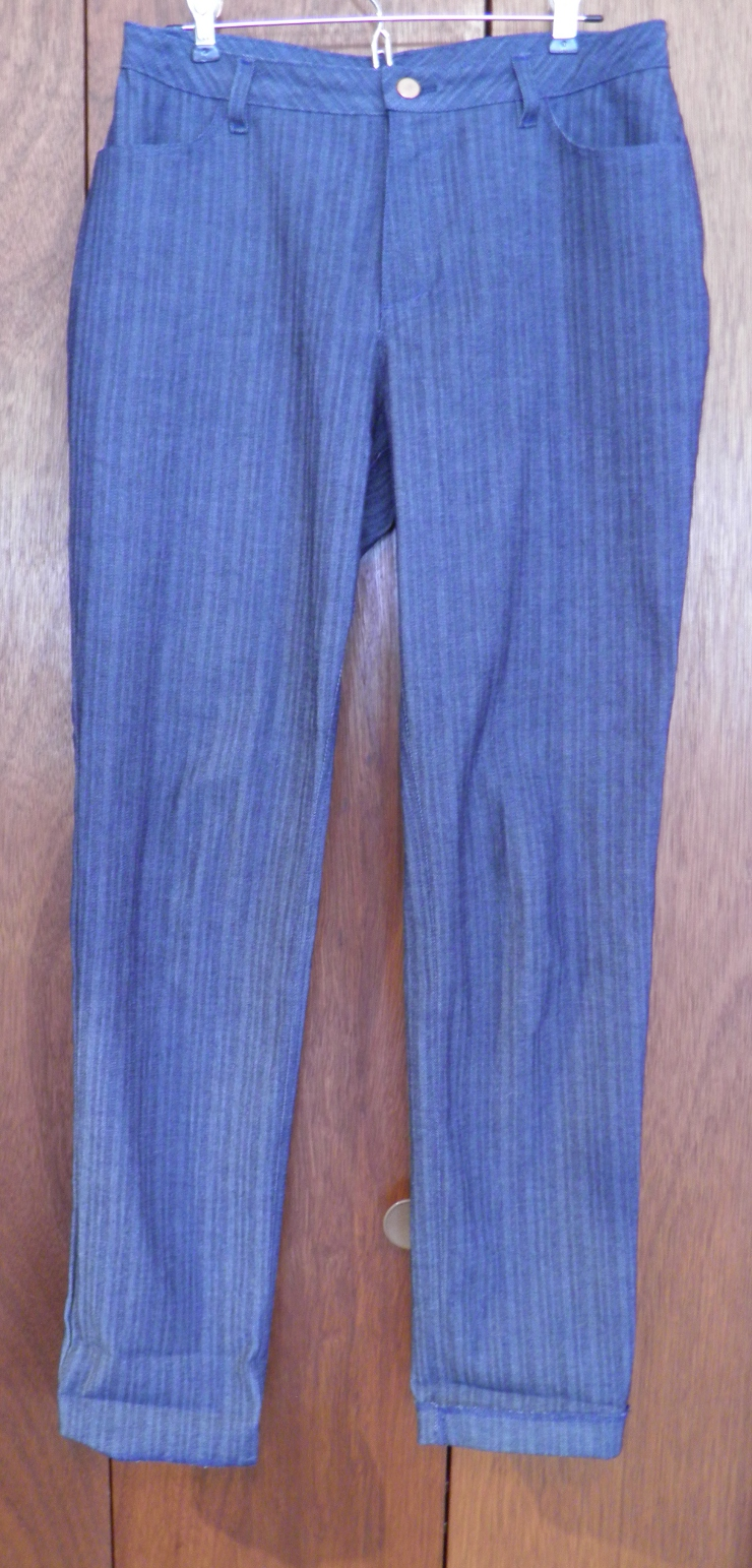 stretch denim jeans from Calvin Klein fabric