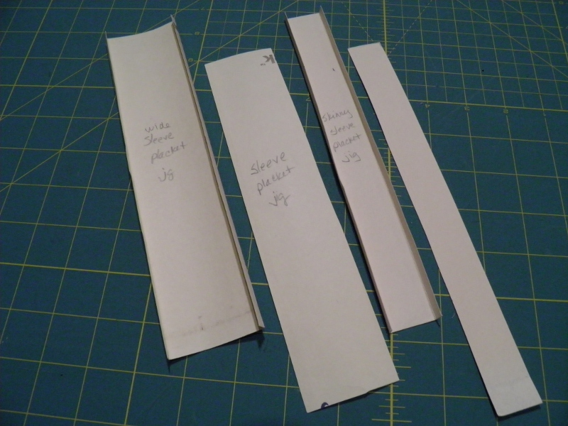 Sleeve Placket templates