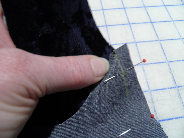 Chalked Side Seam Top