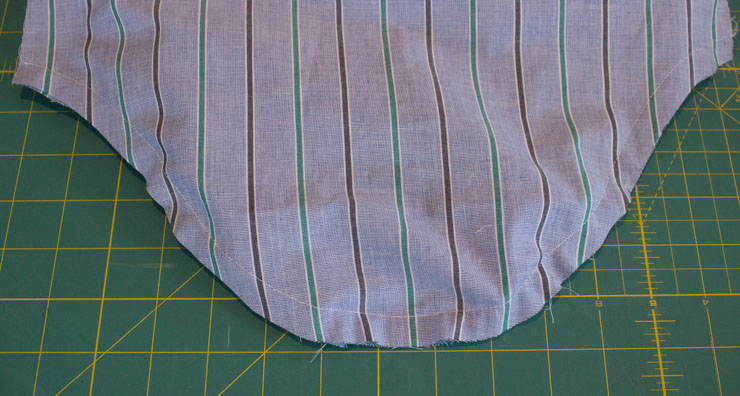 Setting in a tailored sleeve tutorial by Sew Maris