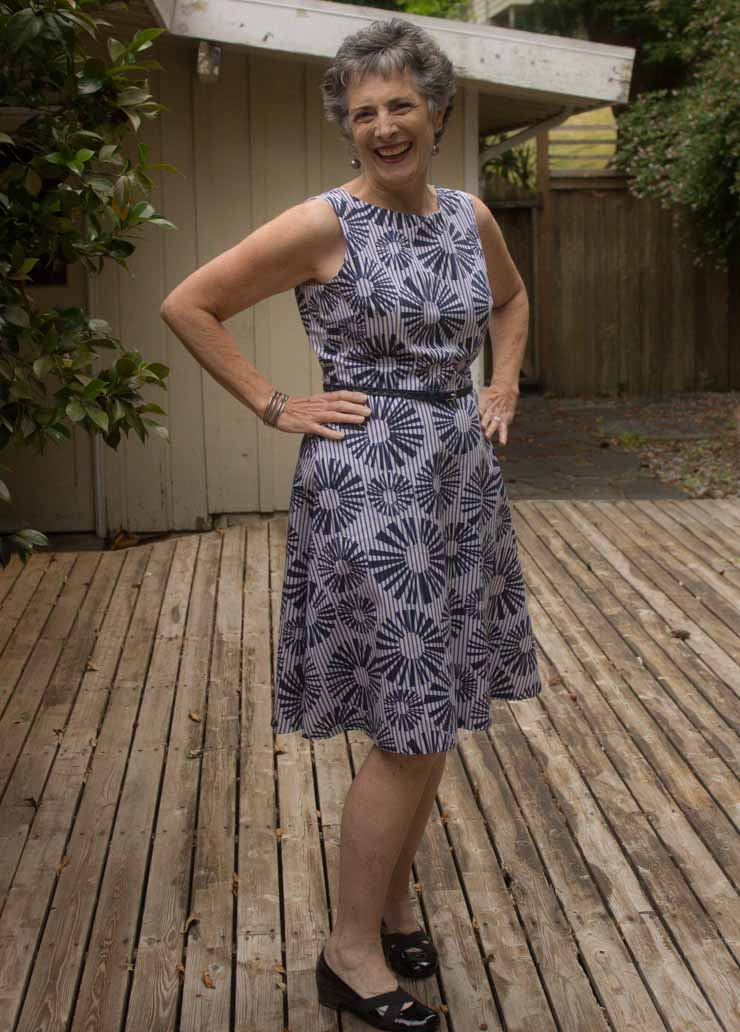 Style Arc Anthea Dress by Sew Maris