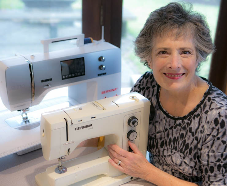 Sew Maris and Berninas