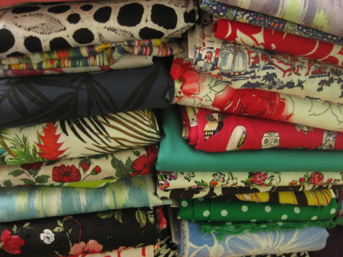Fabric stash by KnitNBee for Sew Maris