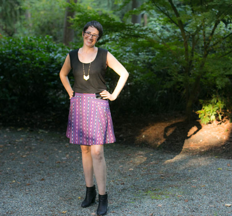 Weekend Rambler Skirt by Sew Maris