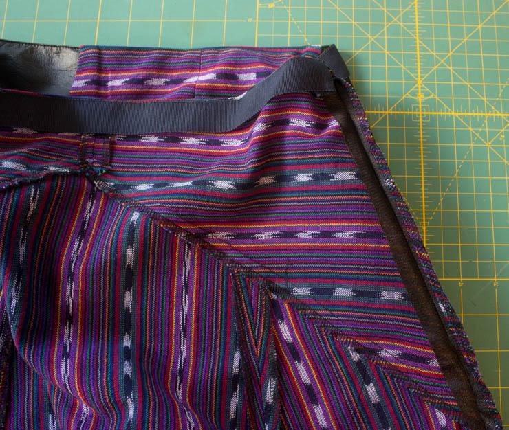 Weekend Rambler Skirt by Sew Maris