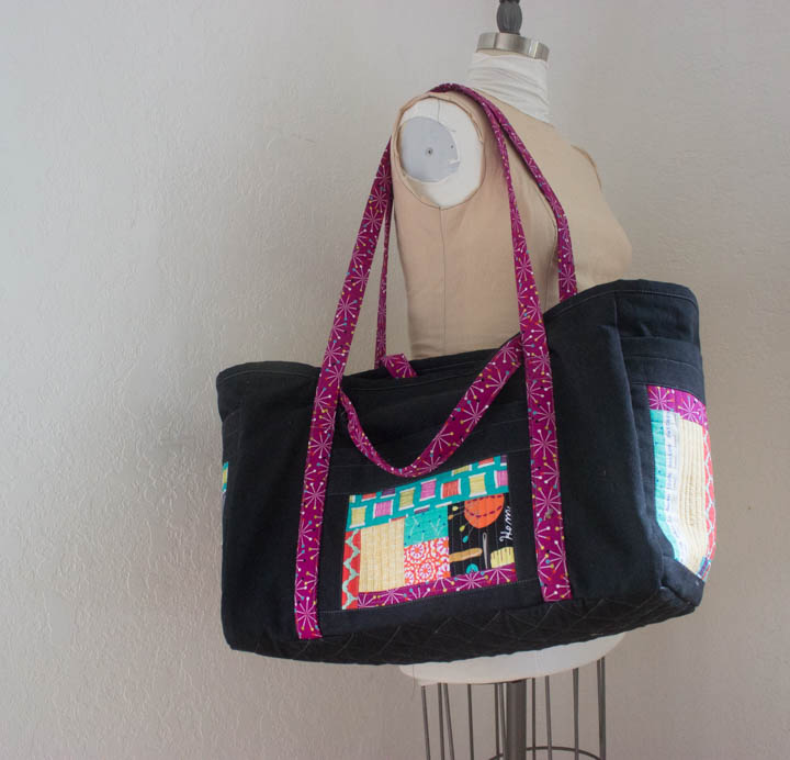 Sewing Circle Tote by Sew Maris