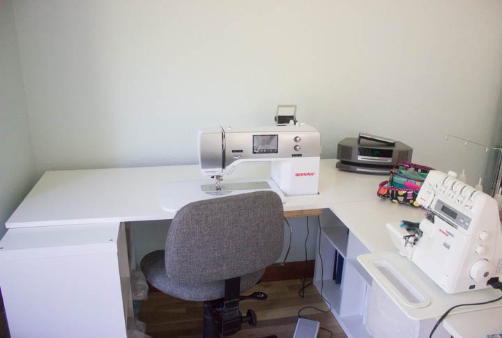 Sew Maris sewing studio makeover
