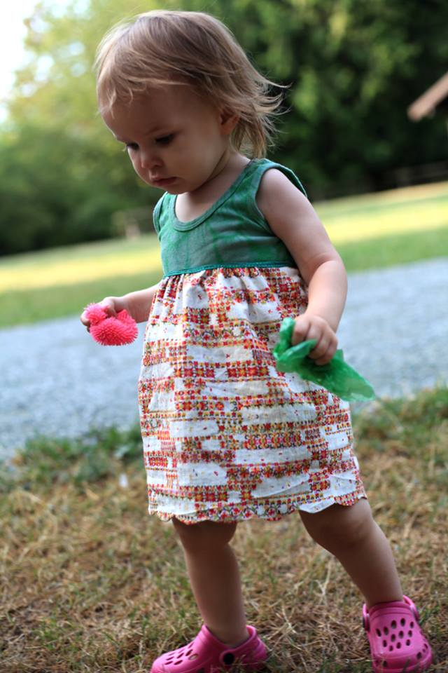 Cosmos reversible Skirt pattern by Sew Maris Designs