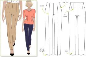 Style Arc CLAUDIA PANT patern