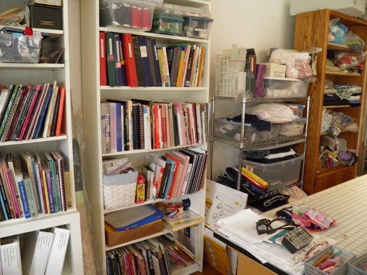 Book Shelf Closeup