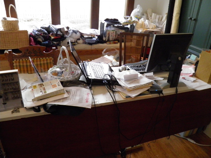 Sewing Desk Area