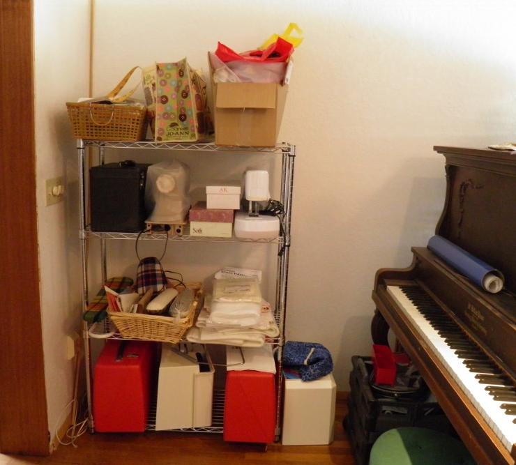 Sewing Machine Storage