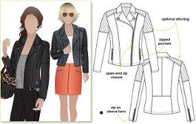 Style Arc's Ziggi jacket pattern