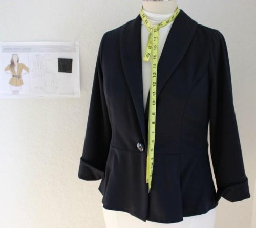 Style Arc Marni Jacket made by Sew Maris