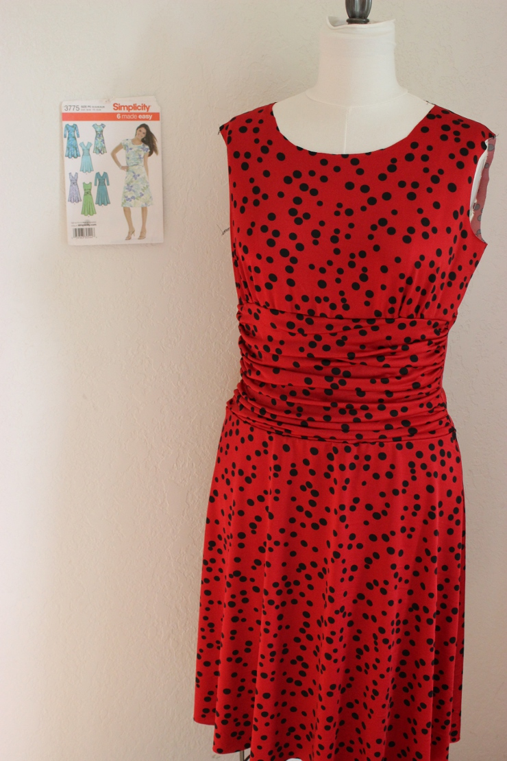 Simplicity 3775 made by Sew Maris