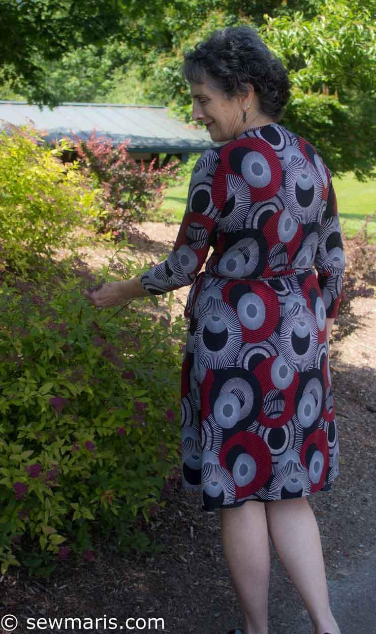 Style Arc Kate Wrap Dres sby Sew Maris