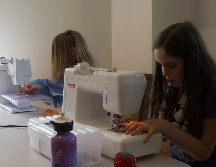 Kids Sew Camp with Sew Maris