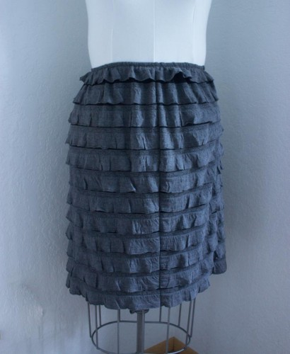 Ruffly Skirt by Sew Maris