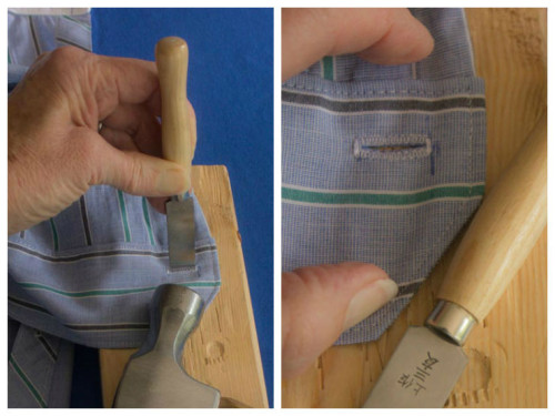 How to Make a Perfect Buttonhole tutorial by Sew Maris
