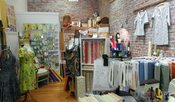 Fabric of Vision store in Ashland by Sew Maris