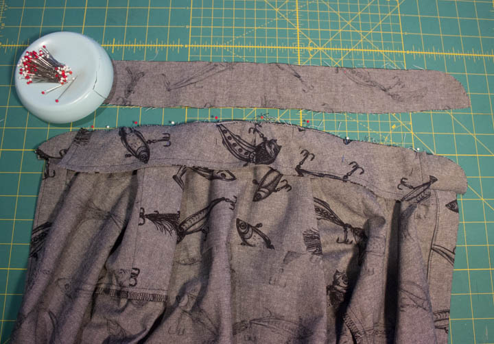 Grainline Archer Sew-along: Collar + Collar Stand