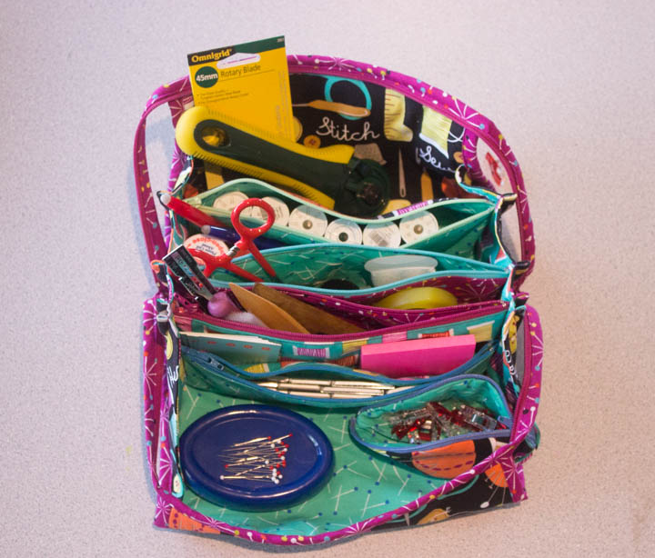 Bionic Gear Bag by Sew Maris