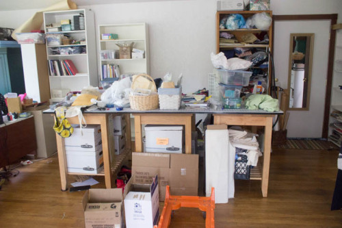 Sewing Studio Makeover by Sew Maris