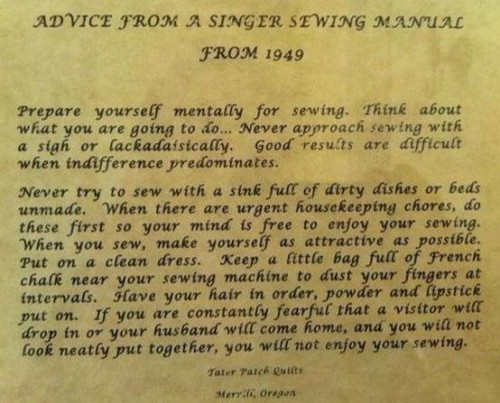 Singer sewing advice from Sew Maris