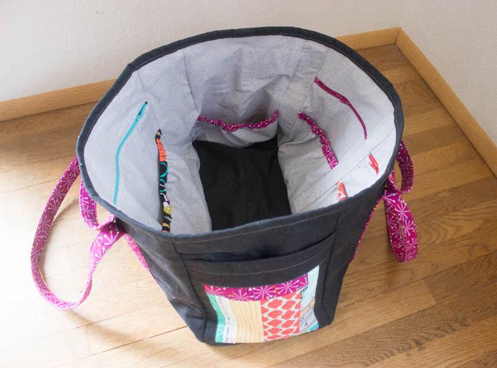 Sewing Circle Tote by Sew Maris