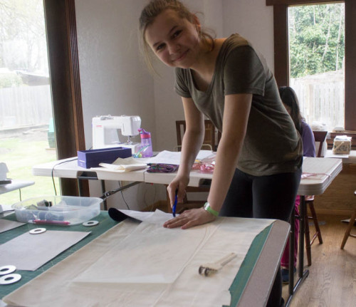 Pattern drafting by Sew Maris