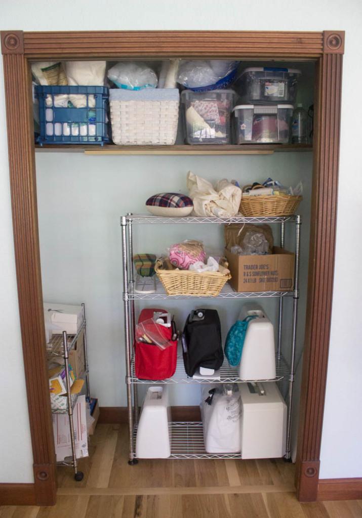 Sew Maris sewing studio makeover