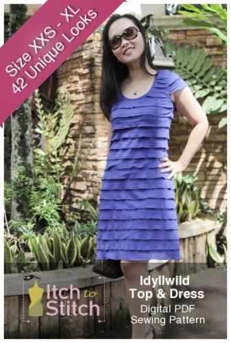 Idyllwood Pattern by Itch to Stitch Designs
