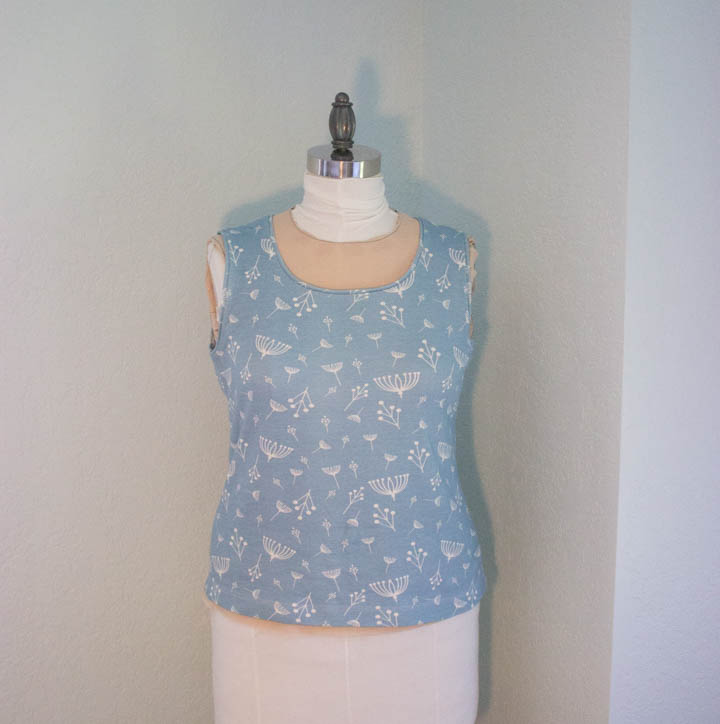 Sewing knit tops by Sew Maris