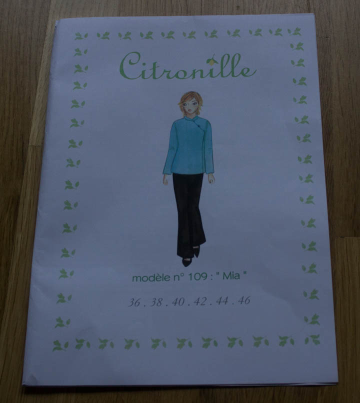 Citronille Mia Tunic for Sew Mama Sew by Sew Maris