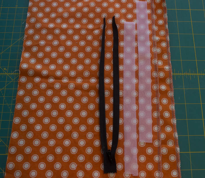Invisible zipper tutorial by Sew Maris
